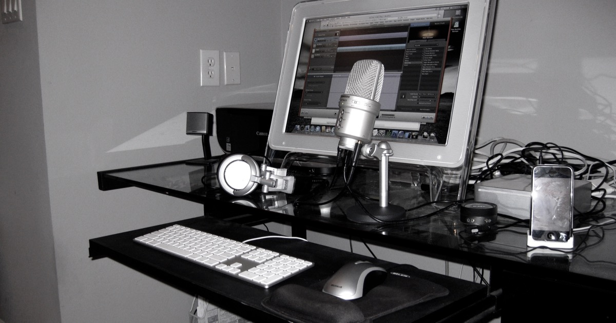 Mac Mini Podcast Studio